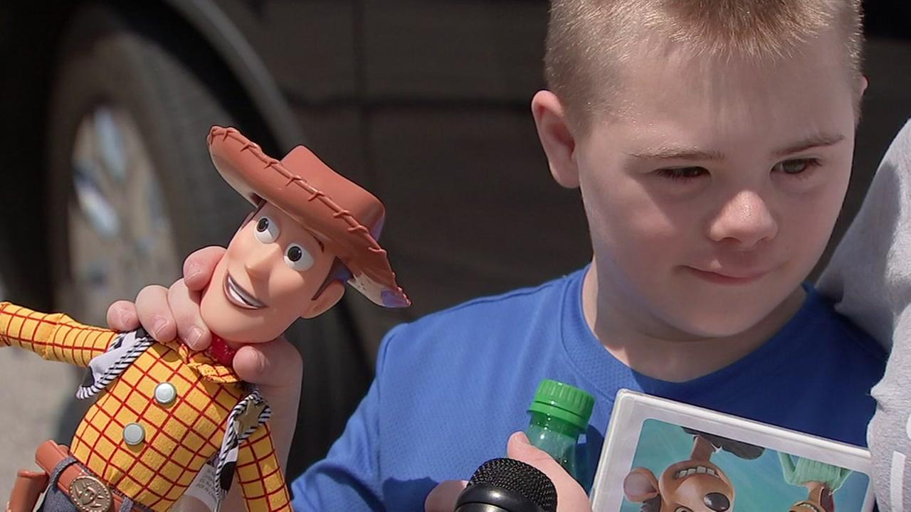 SEARCHING FOR WOODY: Boy with Down syndrome loses Woody doll at Astros Game