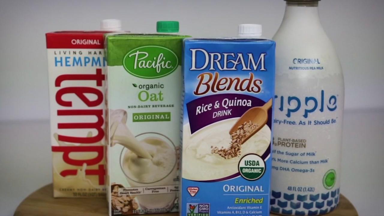 Alternatives to dairy milk