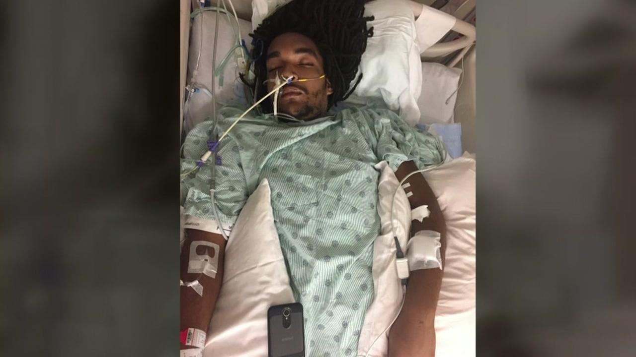 Mother searching for suspect after son shot and paralyzed
