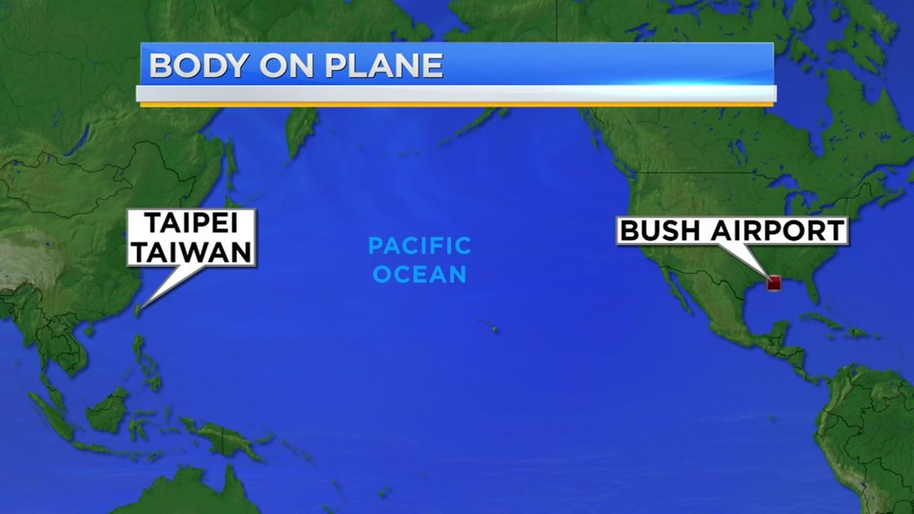 Person died on flight from Taiwan to Houston