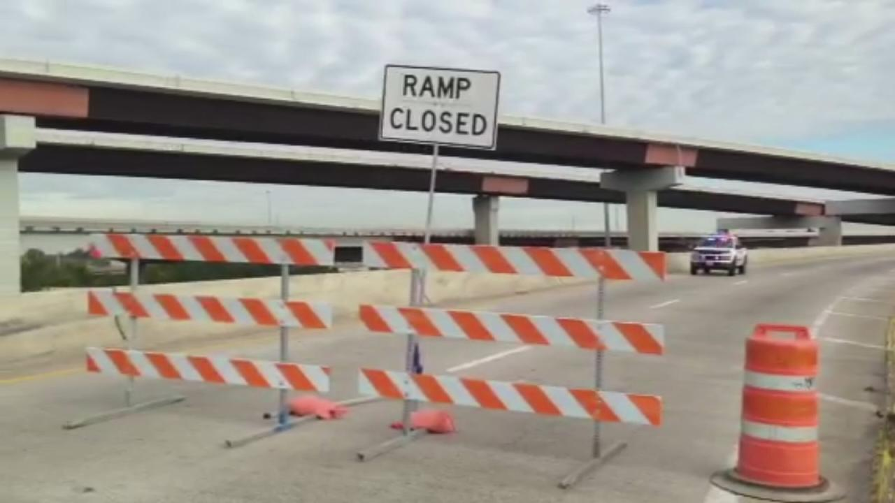 East Freeway closure