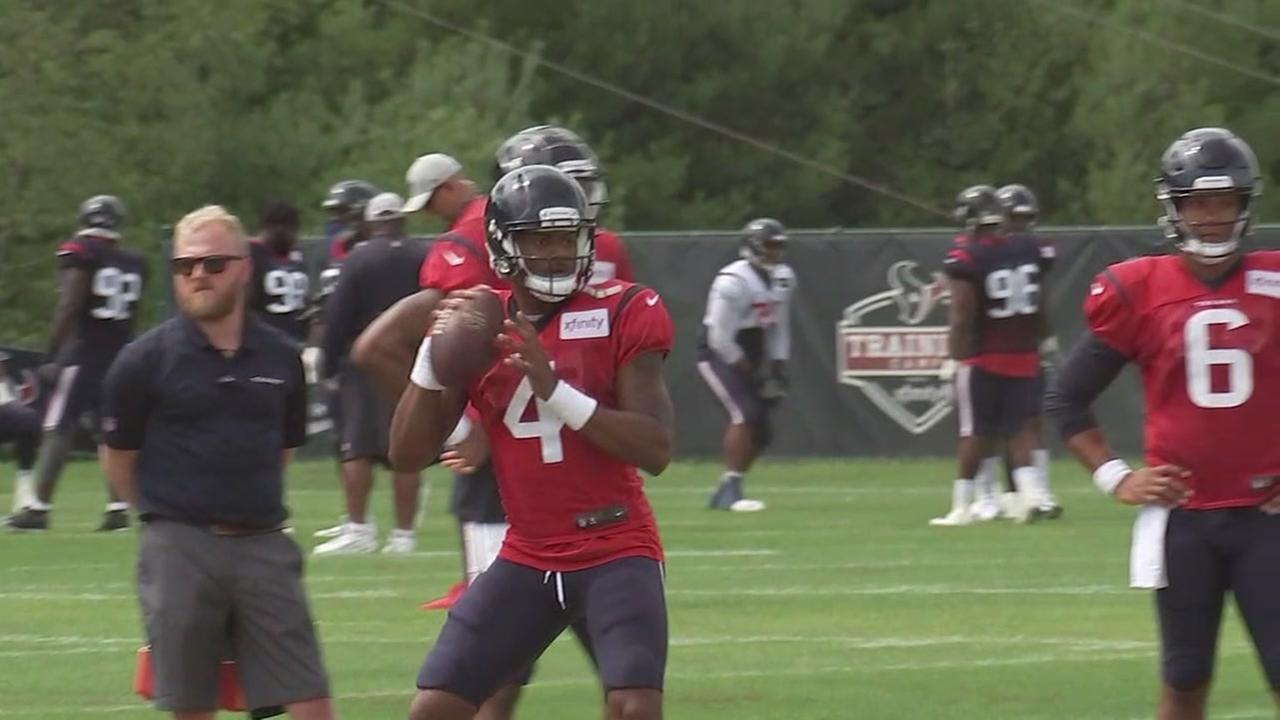 Texans Watson showing growth after short rookie campaign