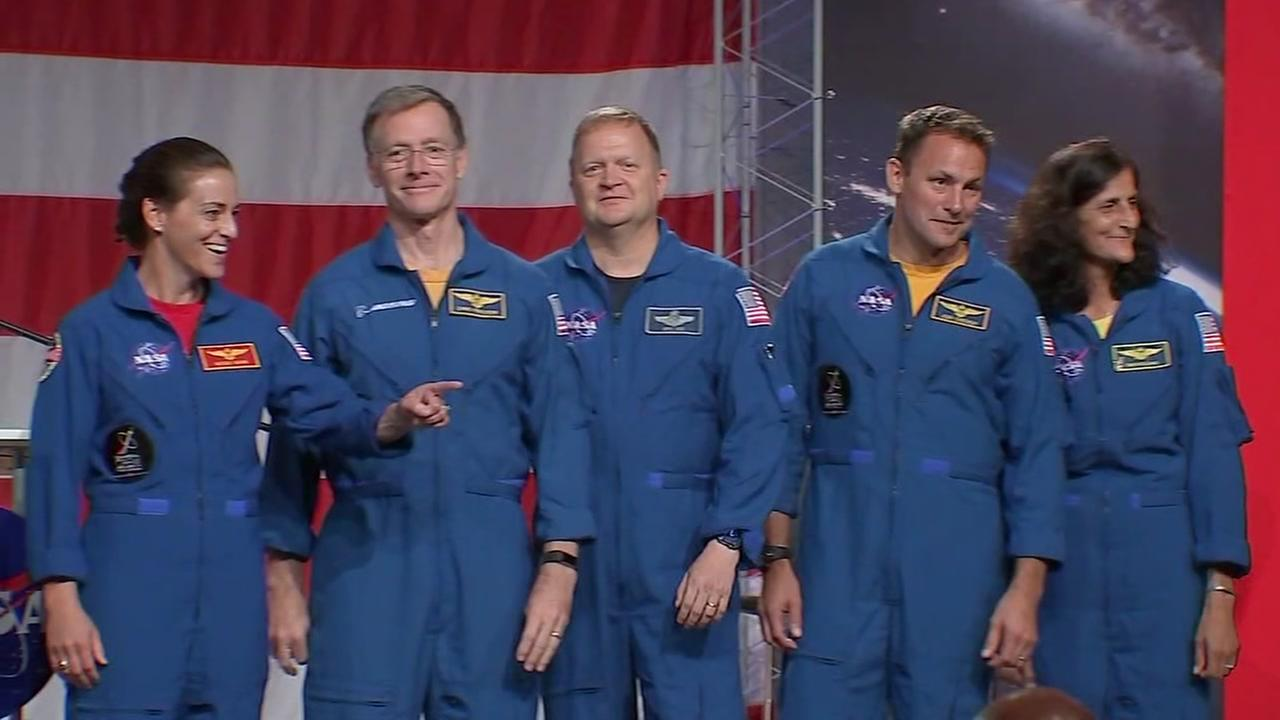NASA names astronauts to carry out first commercial flights