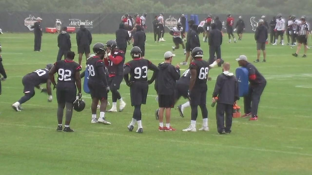 Texans training camp wrap-up on August 3
