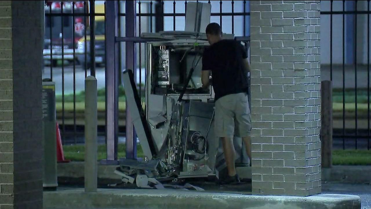 6 men arrested after failed attempt to steal ATM from Comerica Bank