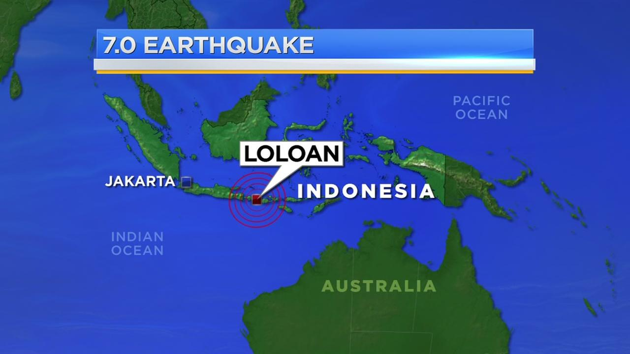 Magnitude 7 earthquake strikes Indonesias Lombok island