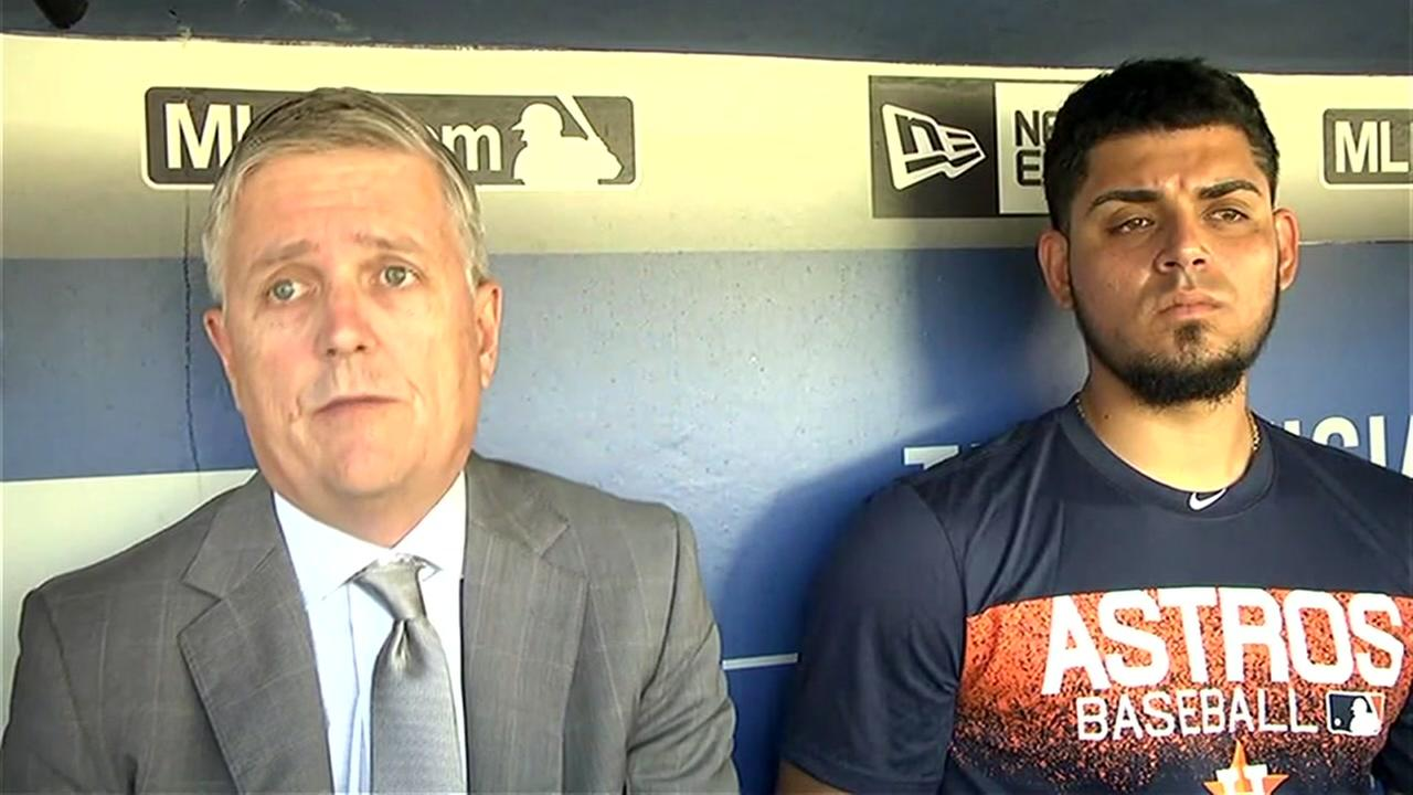 Astros release statement backing Robert Osune as he joins the team