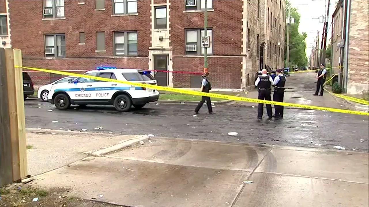 Dozens shot in Chicago