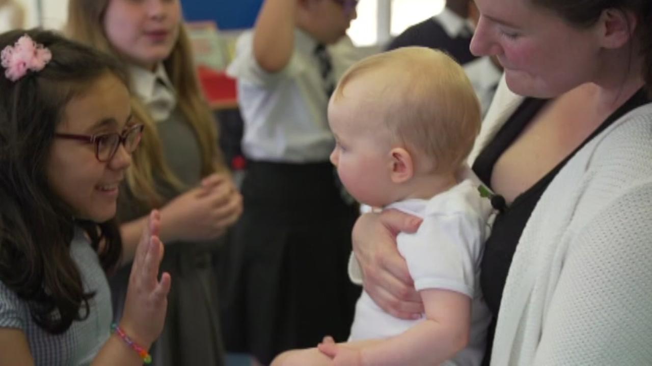 Program using babies to fight against bullying