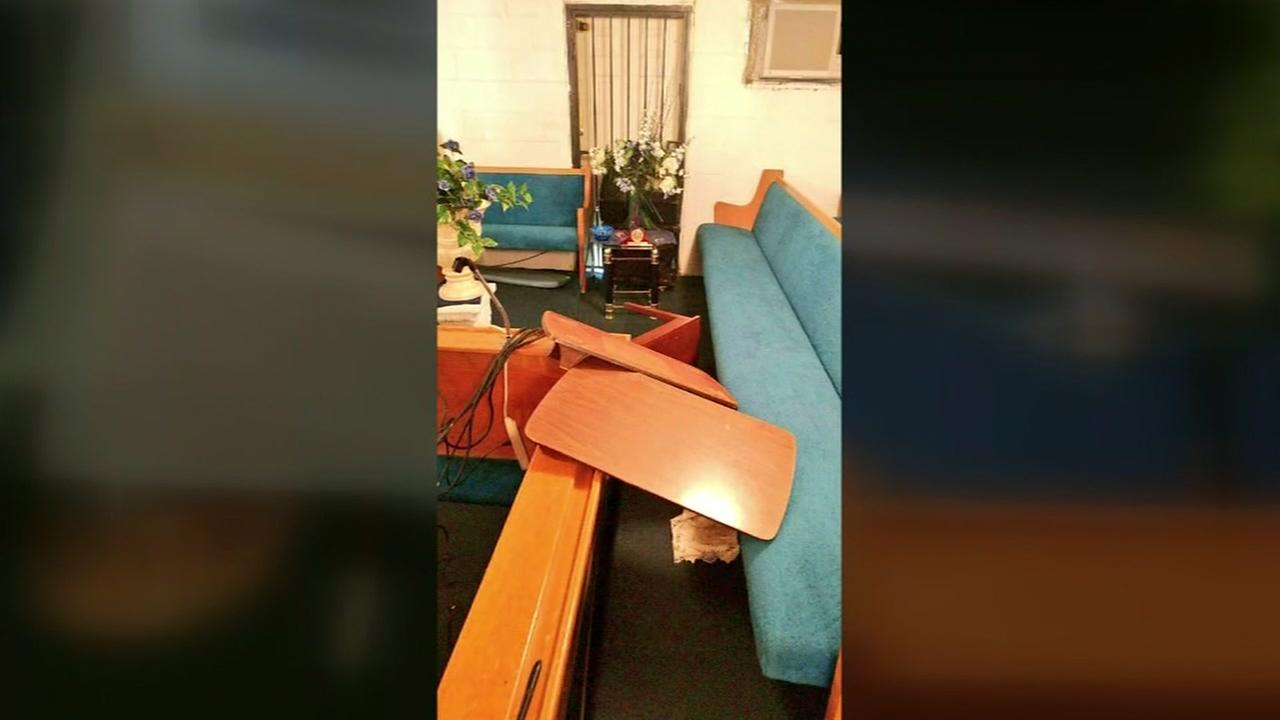Thieves steal more than $5,000 in equipment from small church
