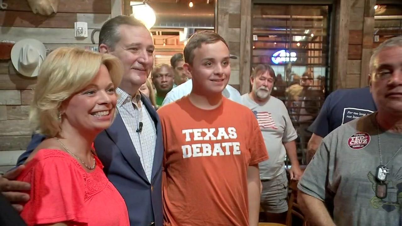 'THIS IS A FIGHT,' Sen. Ted Cruz says on reelection bid