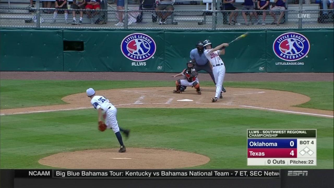Houston team aims to win Little League World Series