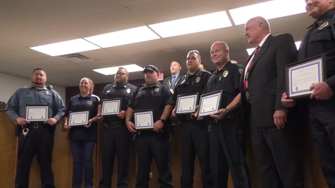 Santa Fe first responders honored Thursday night at City Hall