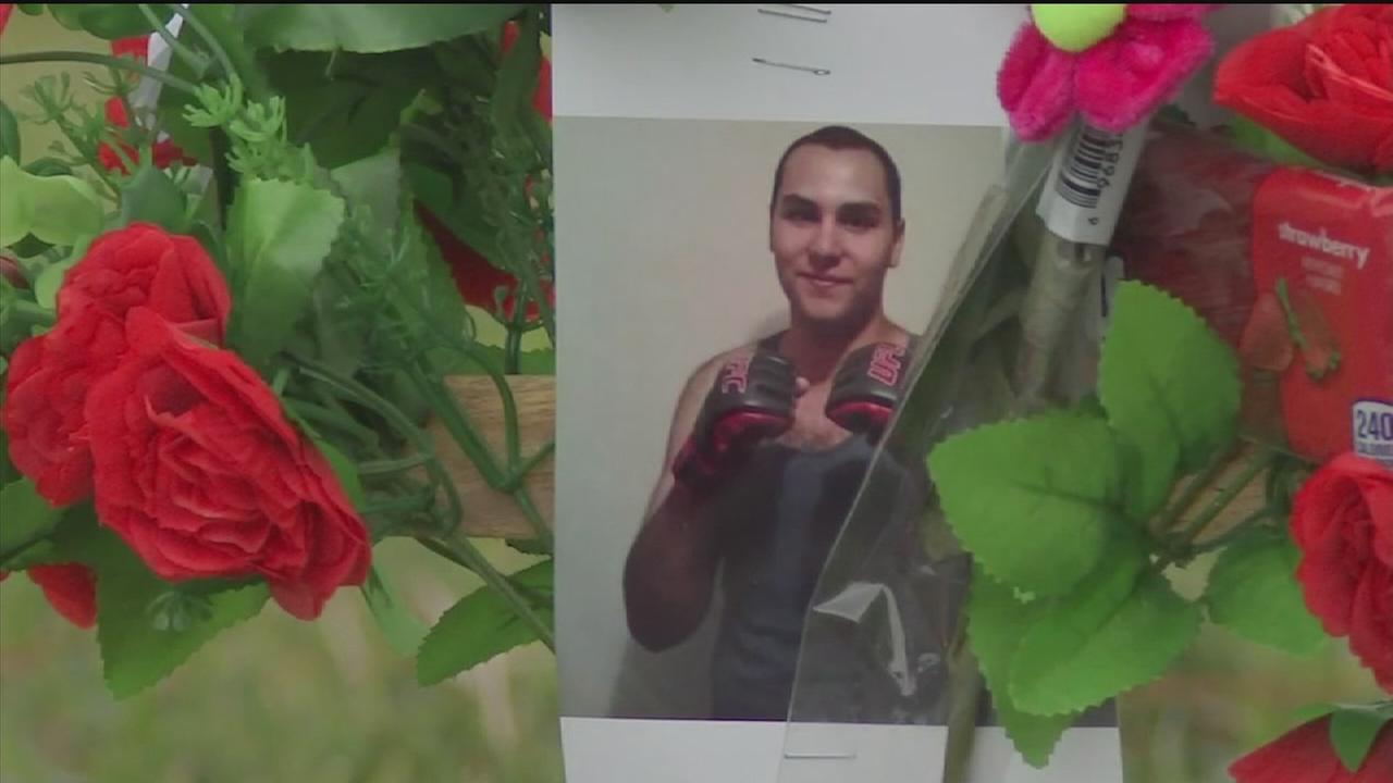 Teen shot to death outside church