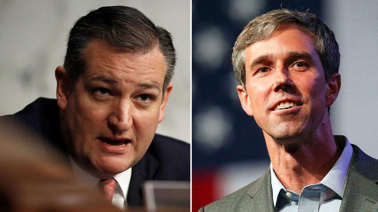 Ted Cruz and Beto ORourke