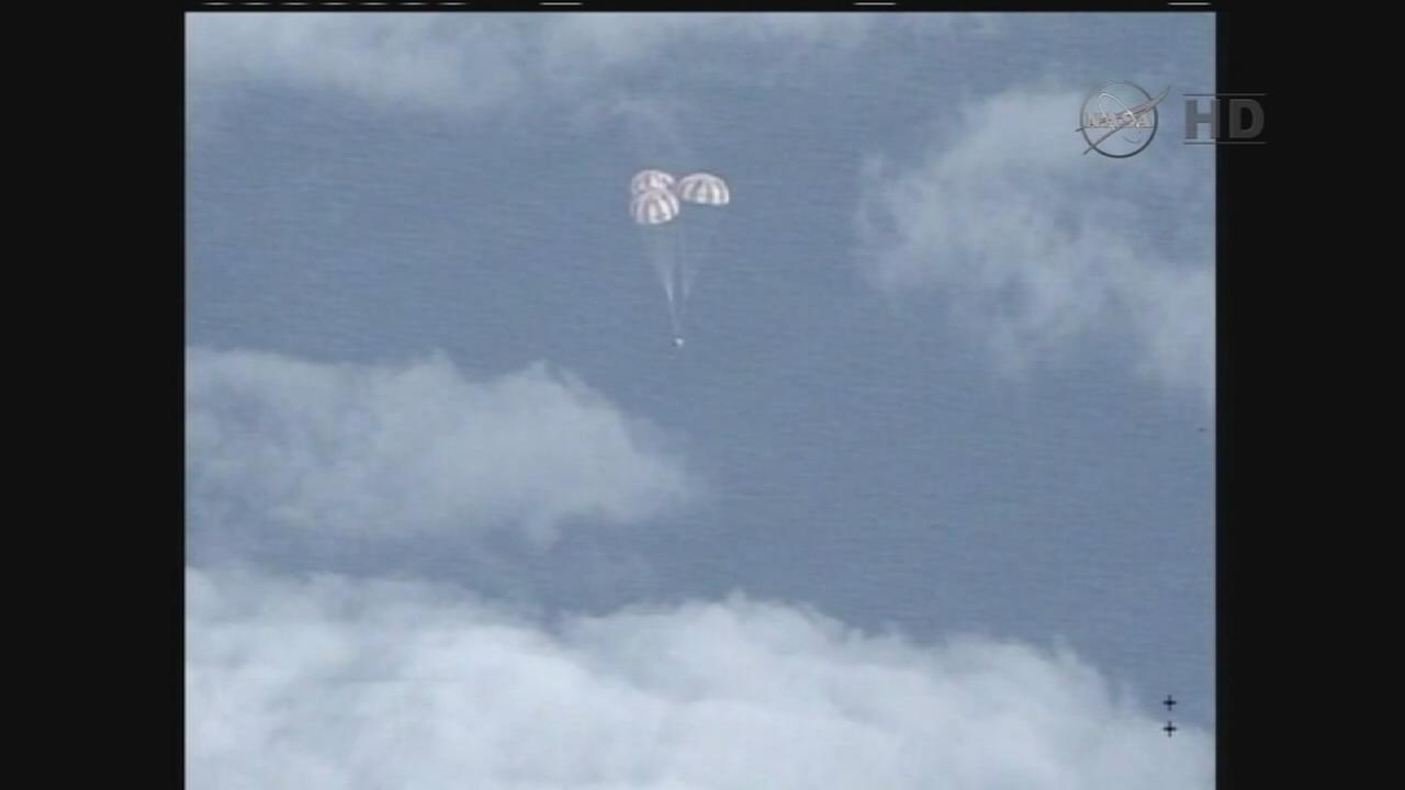 NASAs Orion craft hits high point of 3,600 miles
