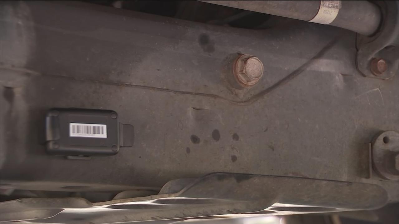 gps tracker found on home burglary victim s car raises concerns