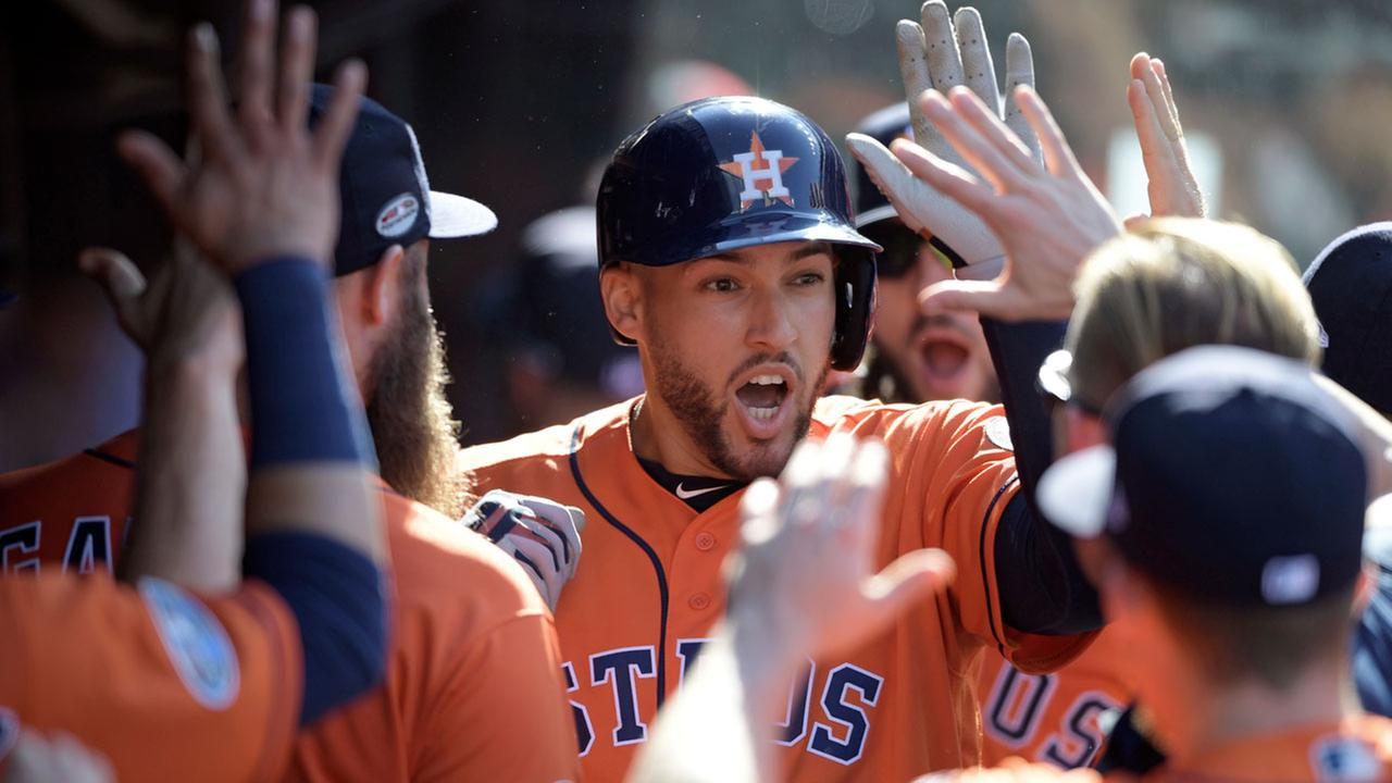 Astros George Springer