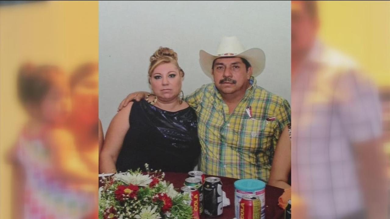 Husband gunned down in front of his wife