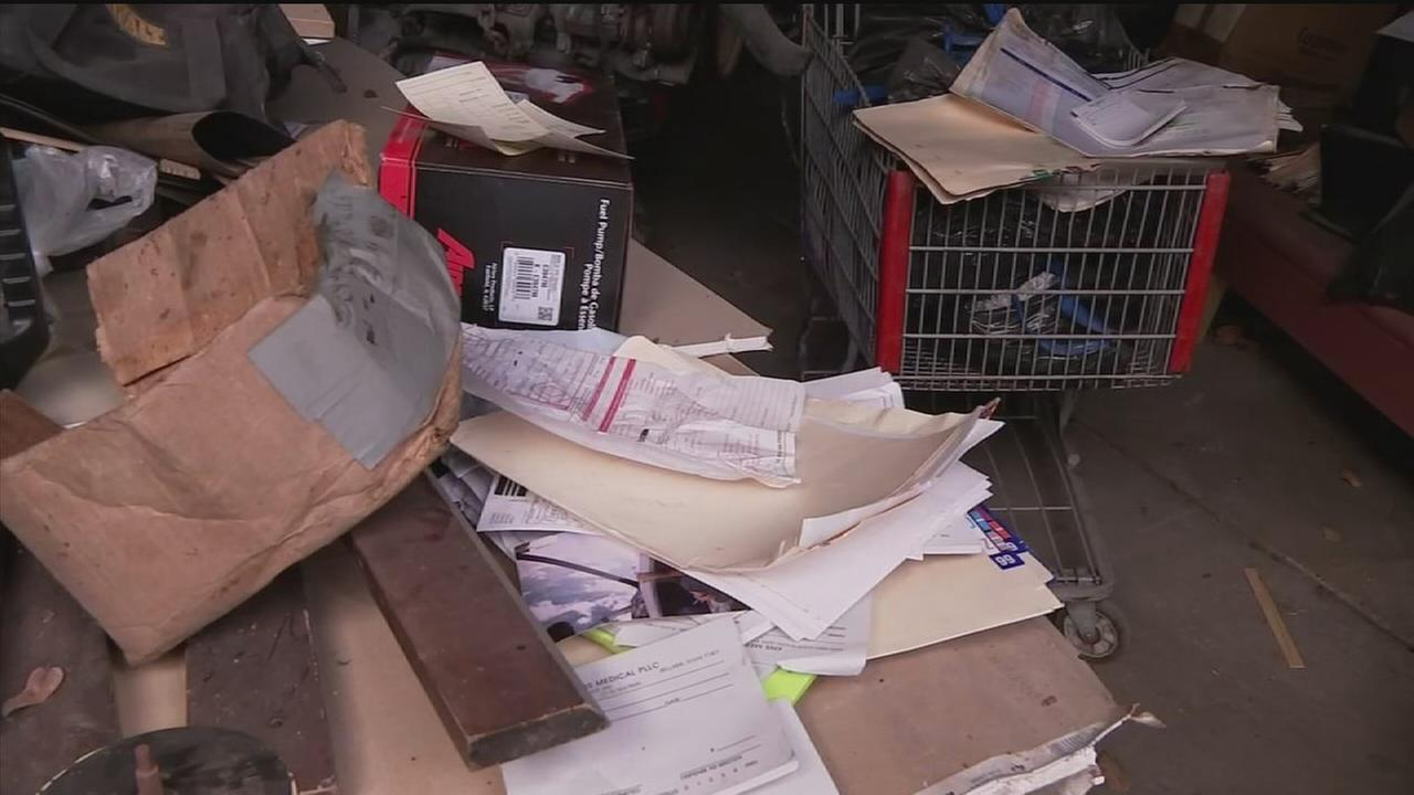 Patient records found abandoned in warehouse