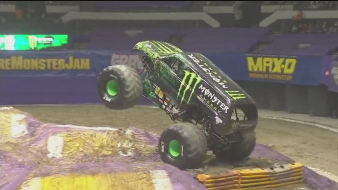Biggest monsters on four wheels head to Houston