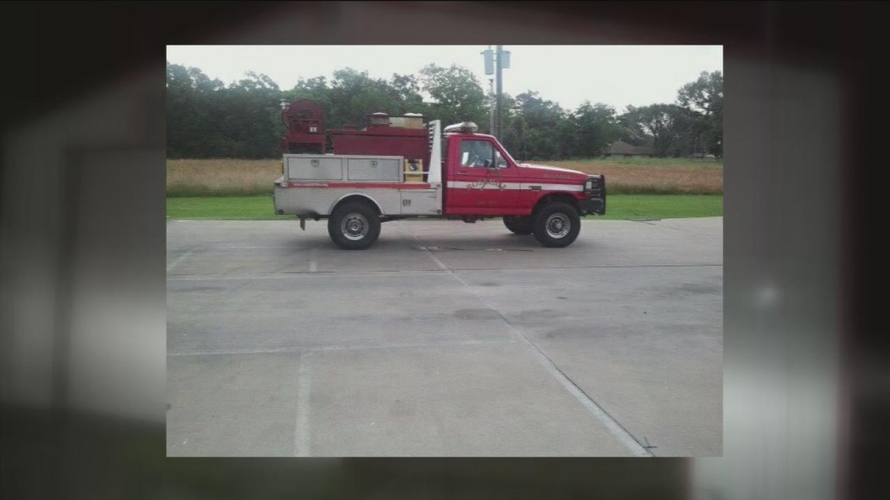 Firetruck stolen from Rosehill Fire Department