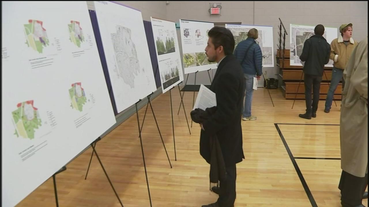 Neighbors share concerns about new Memorial Park plan