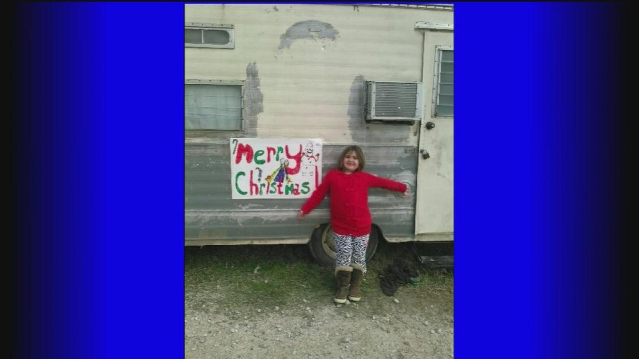 Familys RV stolen, with Christmas gifts inside
