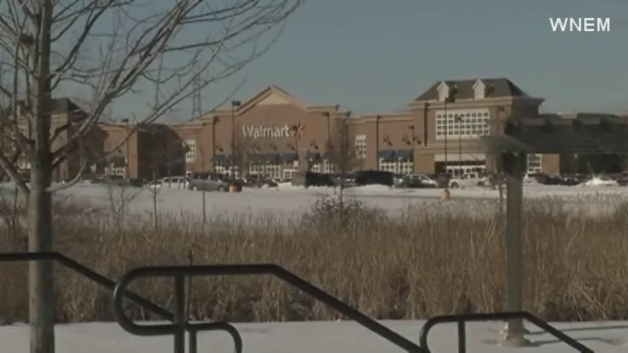 Woman evicted from Walmart