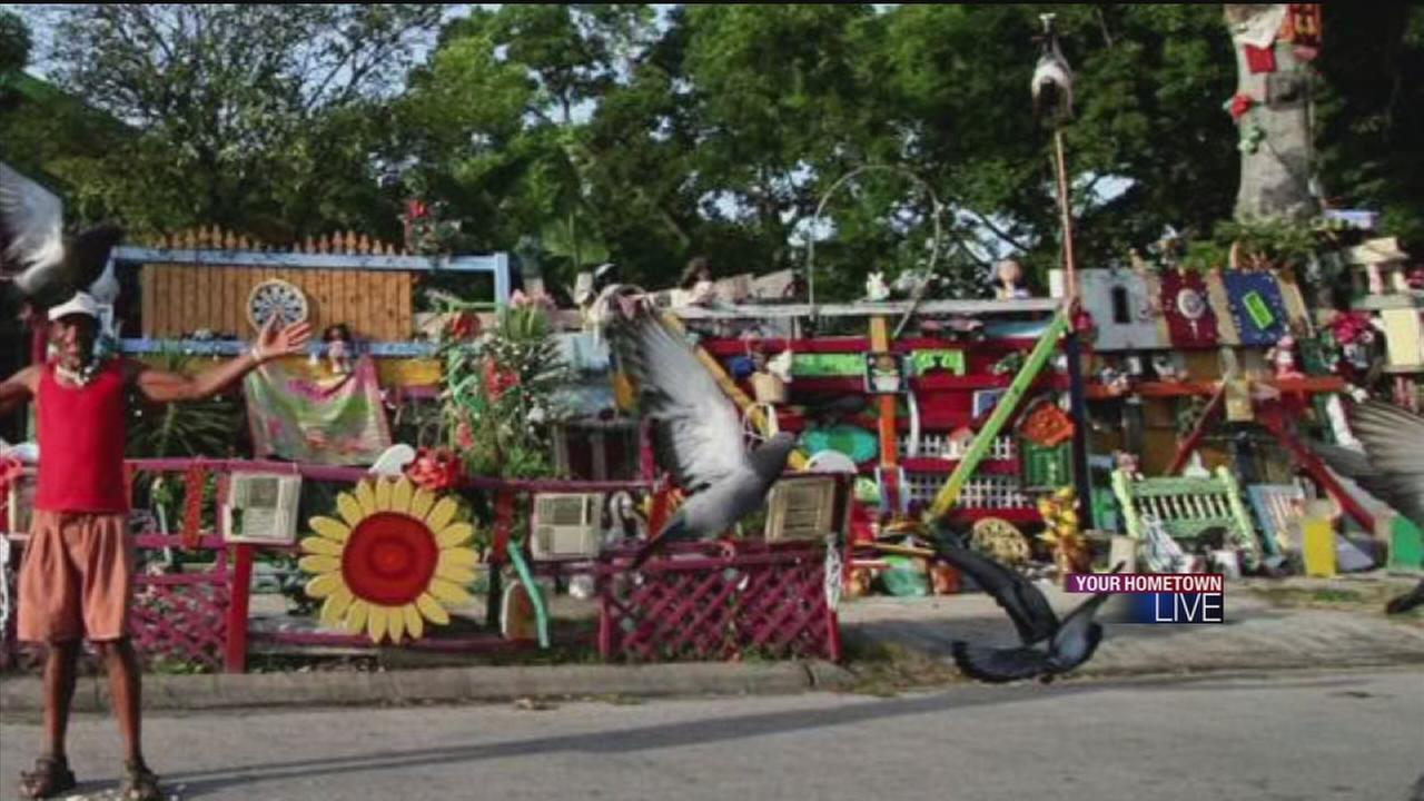 Flower mans home to be demolished