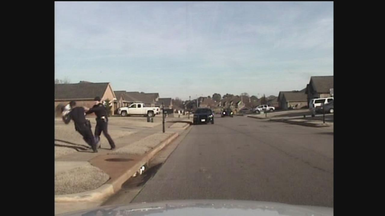 RAW VIDEO: Dashcam of alleged officer assault