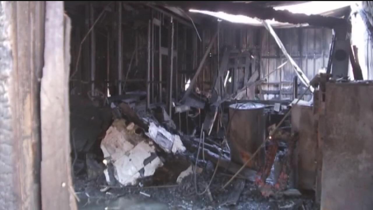 HFD: Accelerant used in Islamic community fire