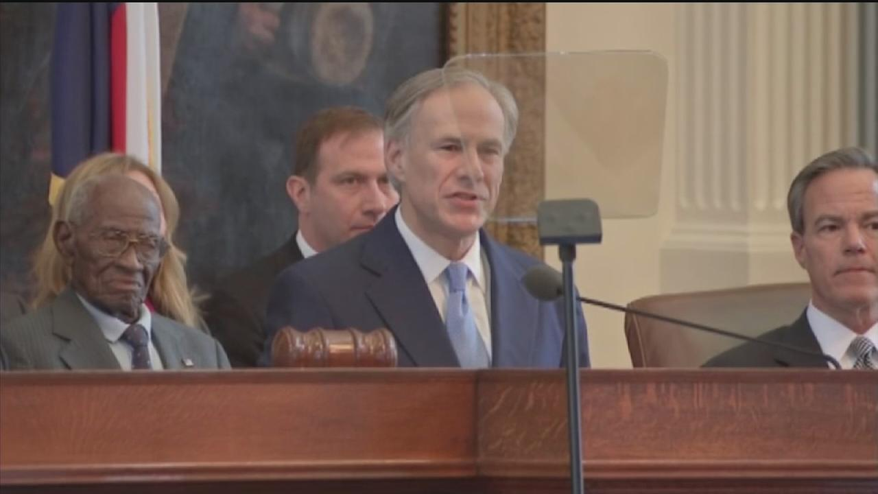 Gov. Greg Abbott delivers State of the State