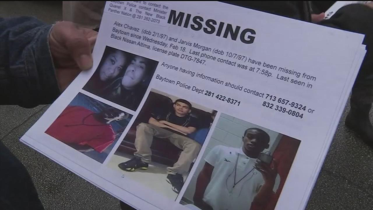 Search underway for two missing teens