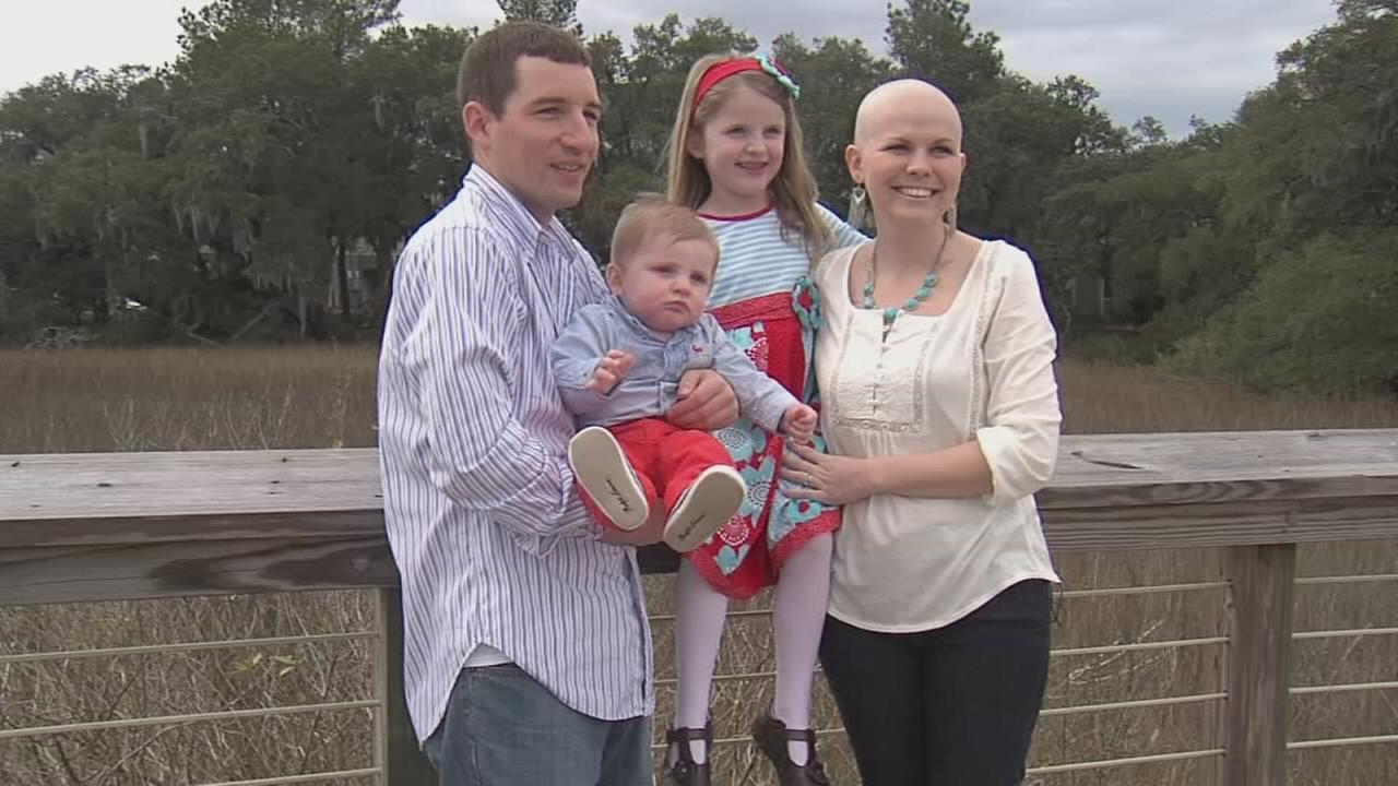 Mother vows to beat cancer, see children grow up