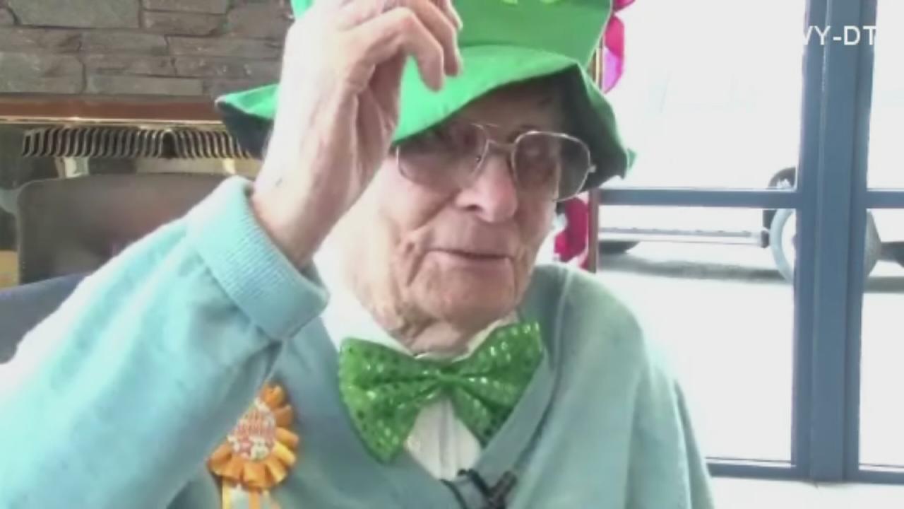 100-year-old salesman still at work