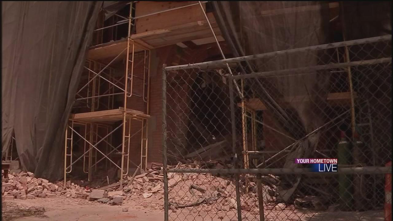Incarnate Word Academy torn down