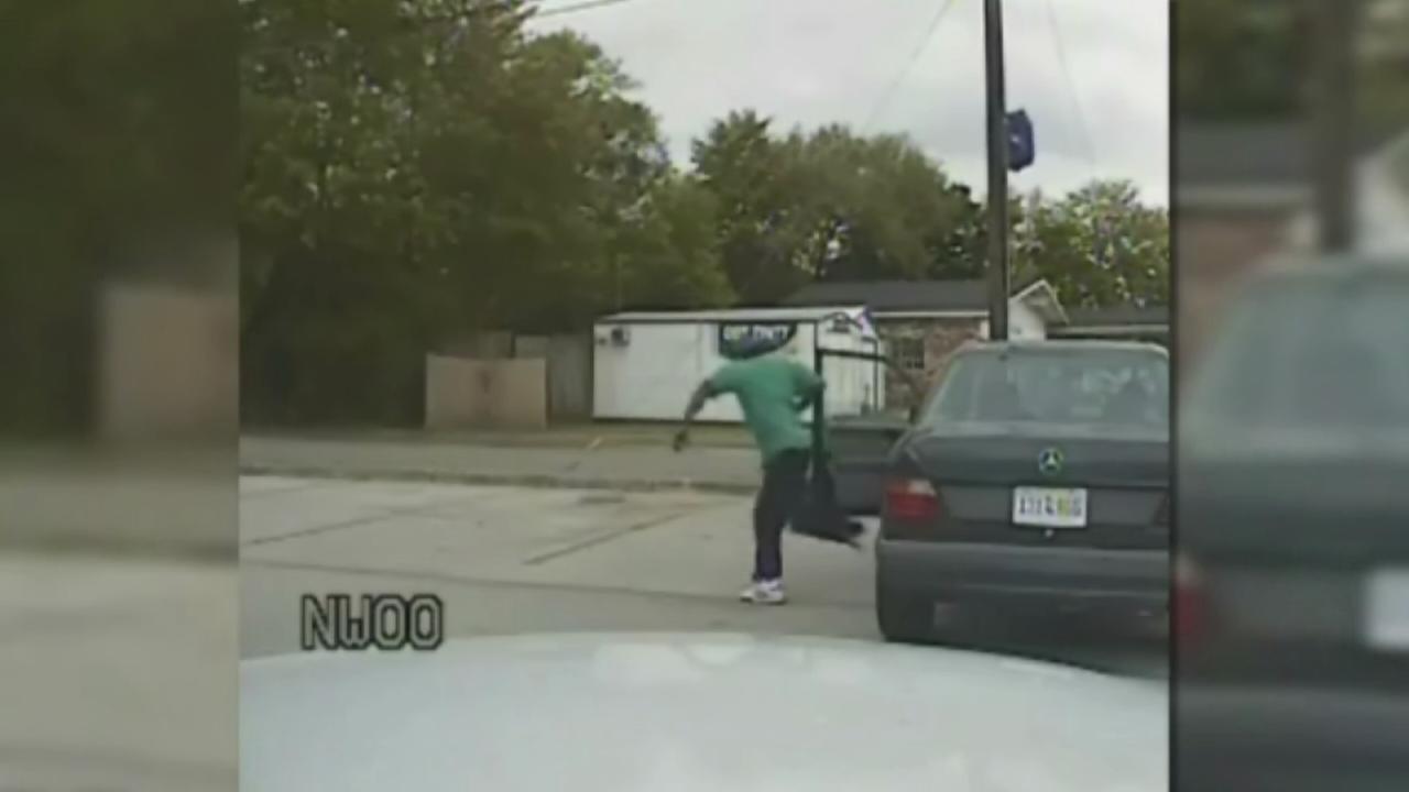 Dashcam video from South Carolina shooting