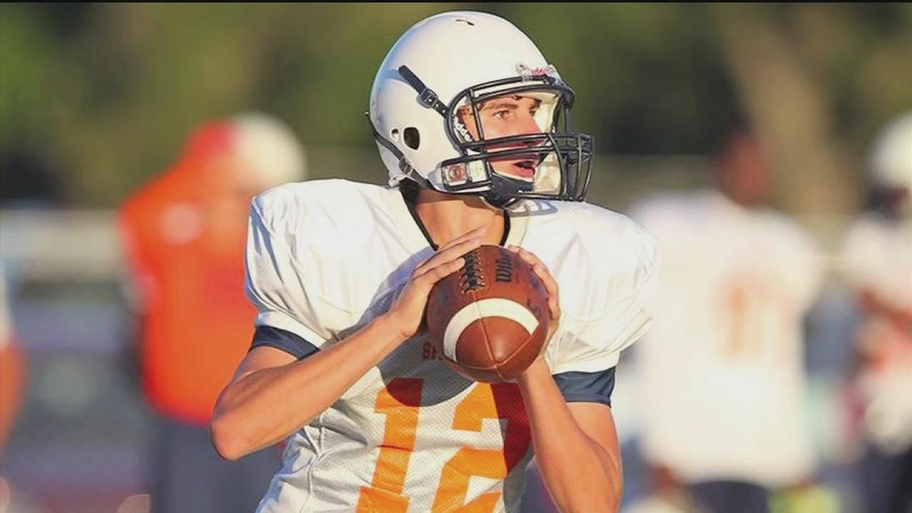 Quarterback from Katy battling MS