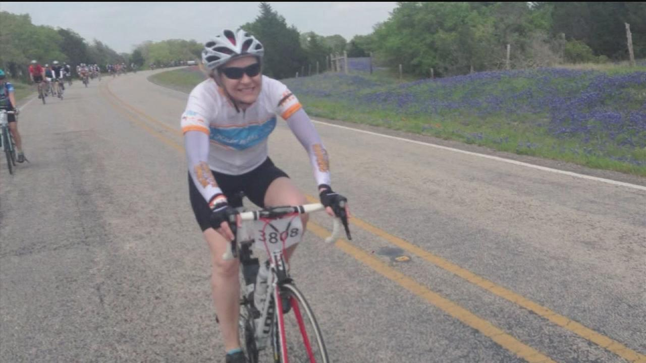 Woman battling MS prepares for ride to Austin