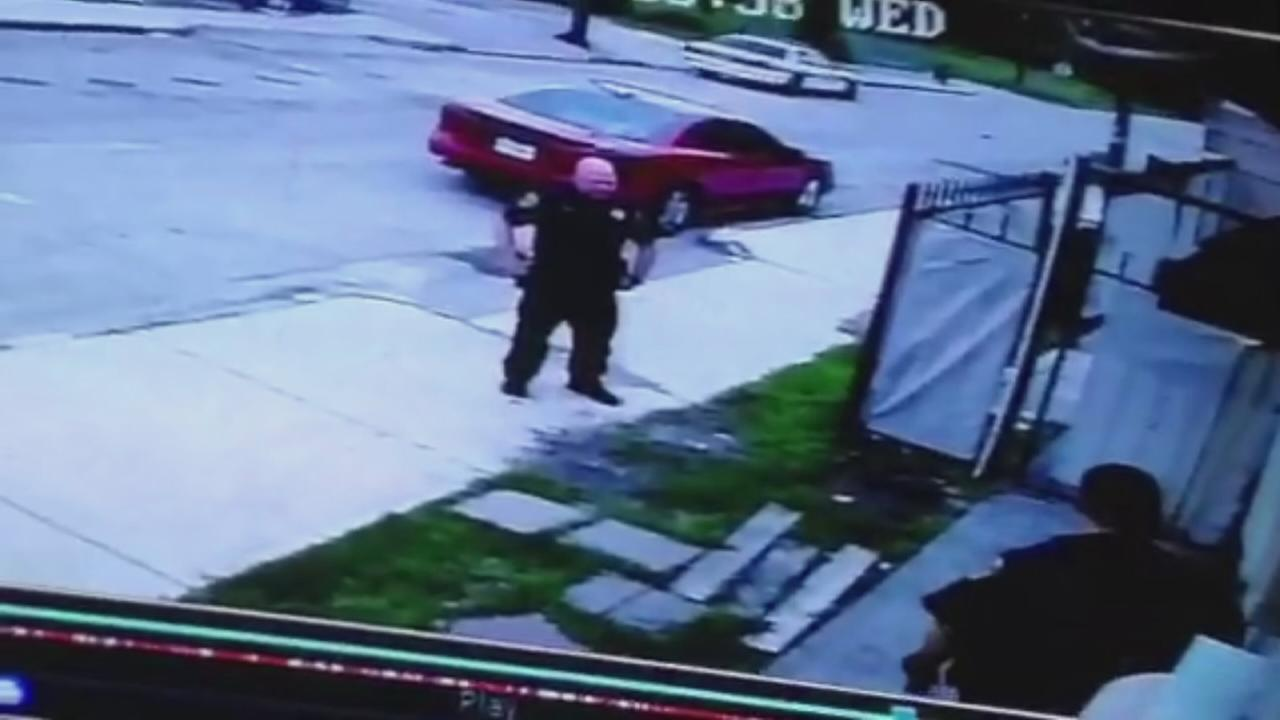 VIDEO: Officers force way into game room
