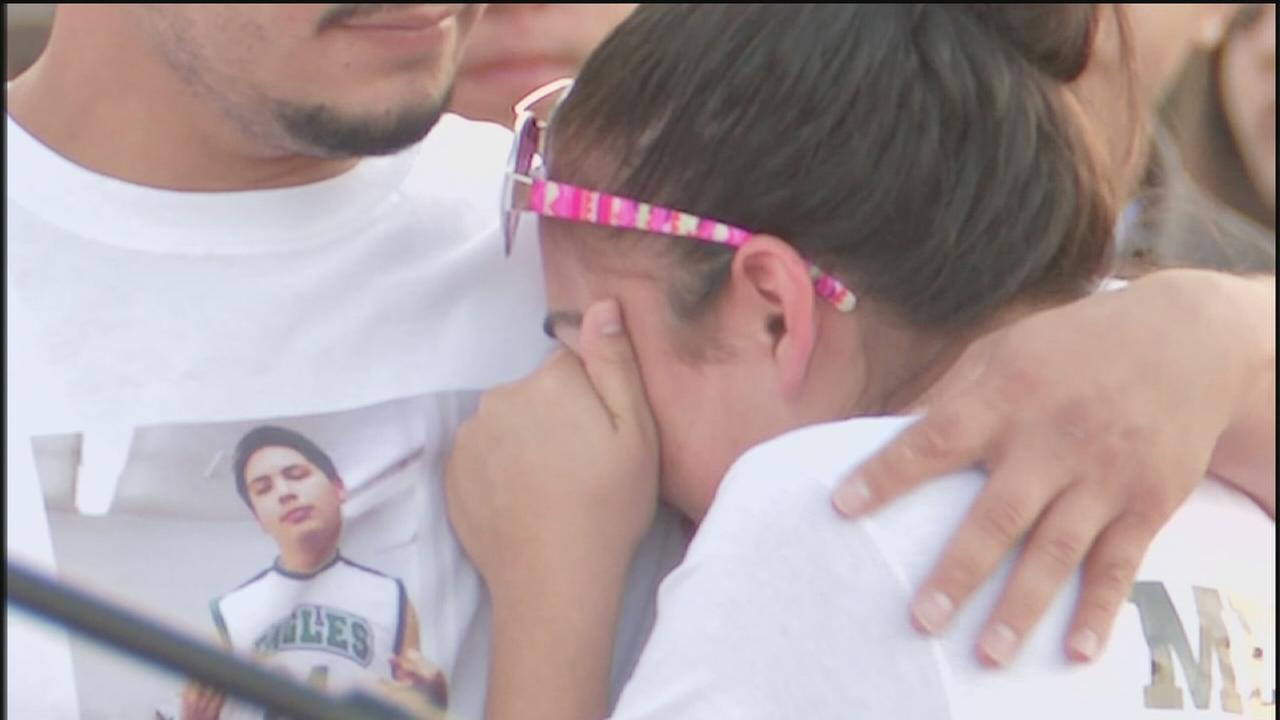 Vigil held for student who died after collapsing