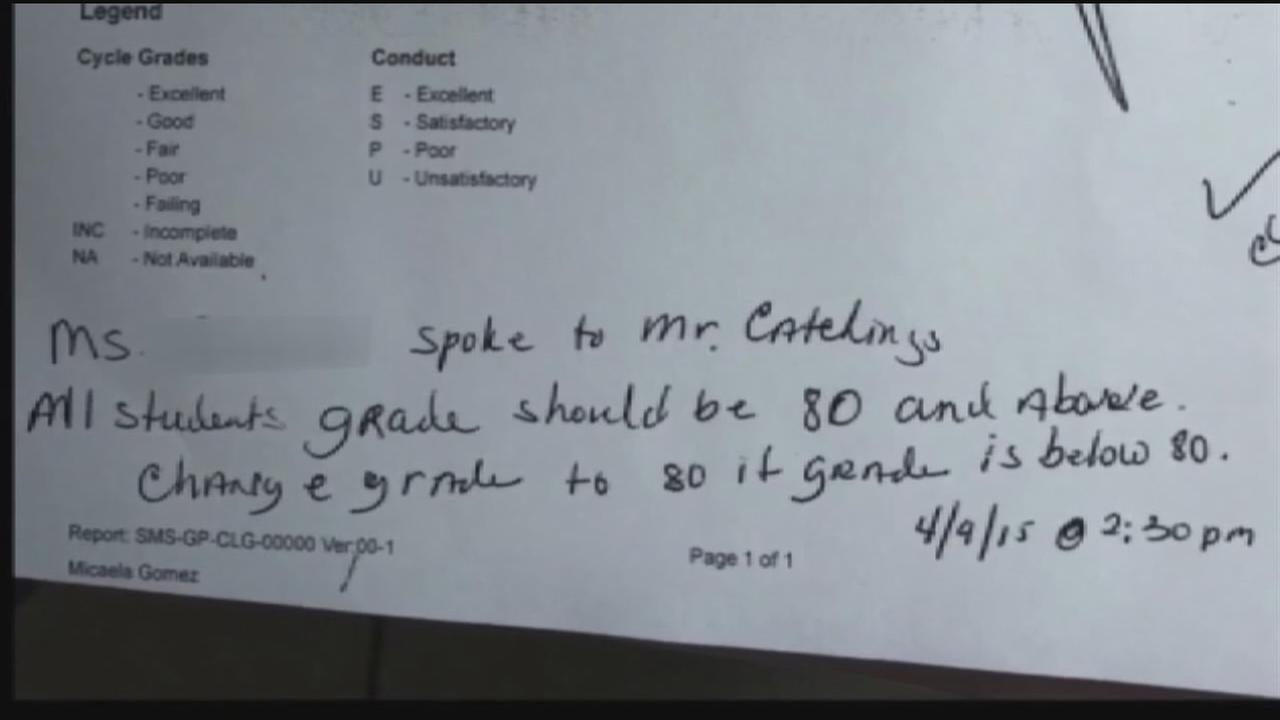 Audit: HISD principal asked to change students grades