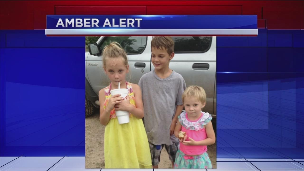 Three Needville children missing; Amber Alert issued