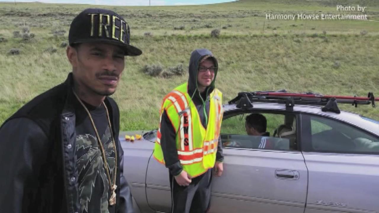 Rapper saves life of driver