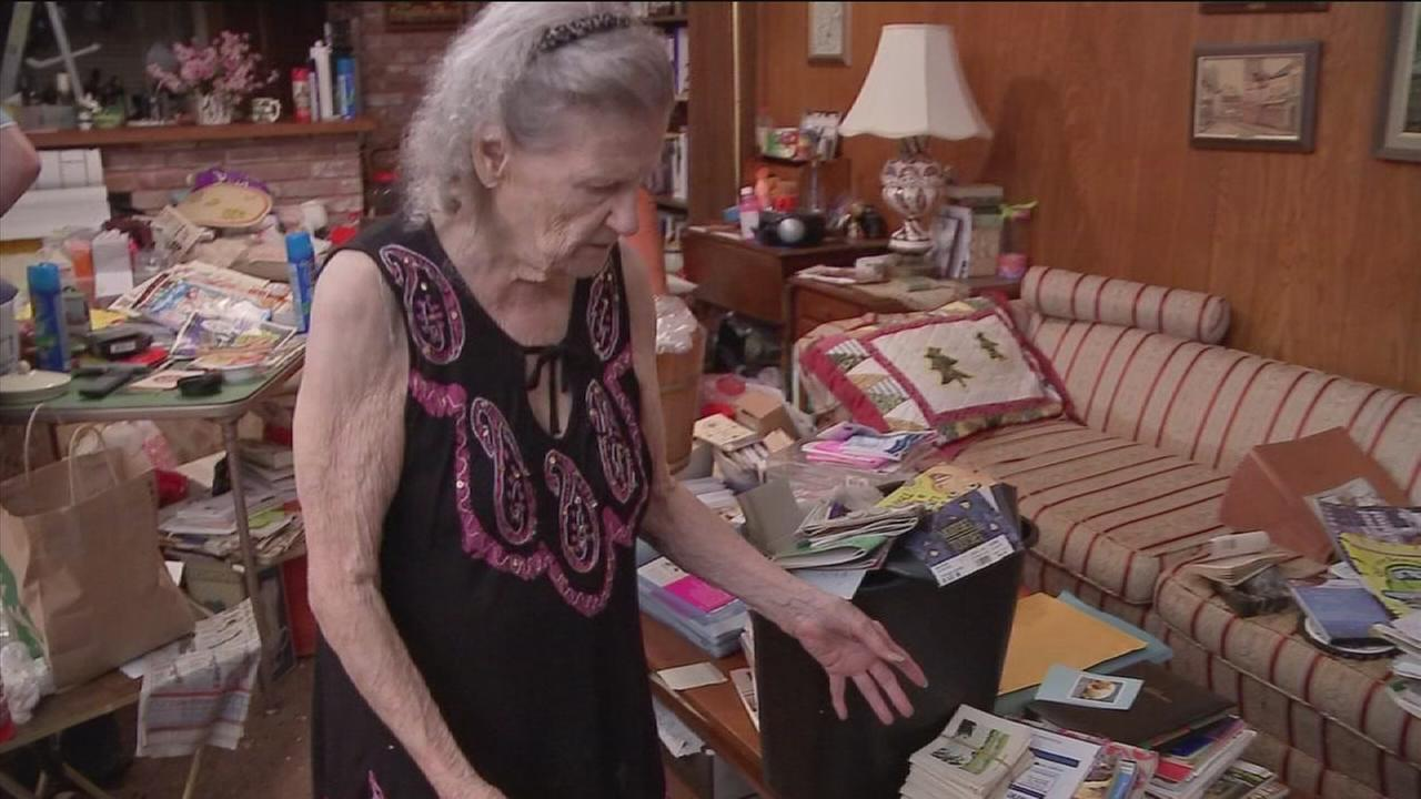 Woman, 92, begins repairing flooded Meyerland home