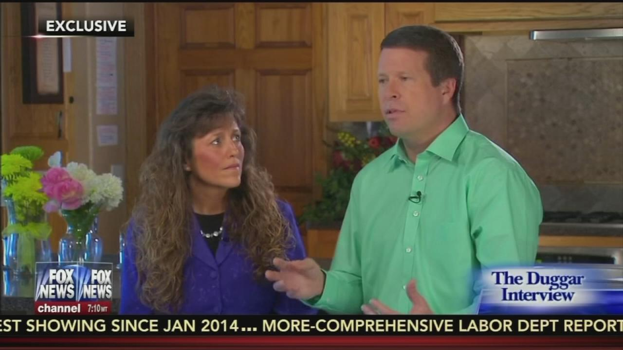 Duggars discuss allegations against son