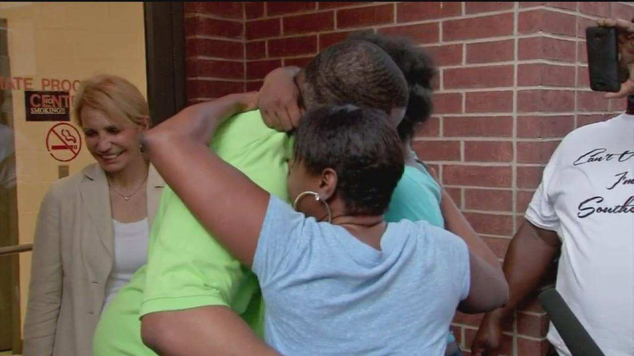 Family rejoices at release of death row inmate