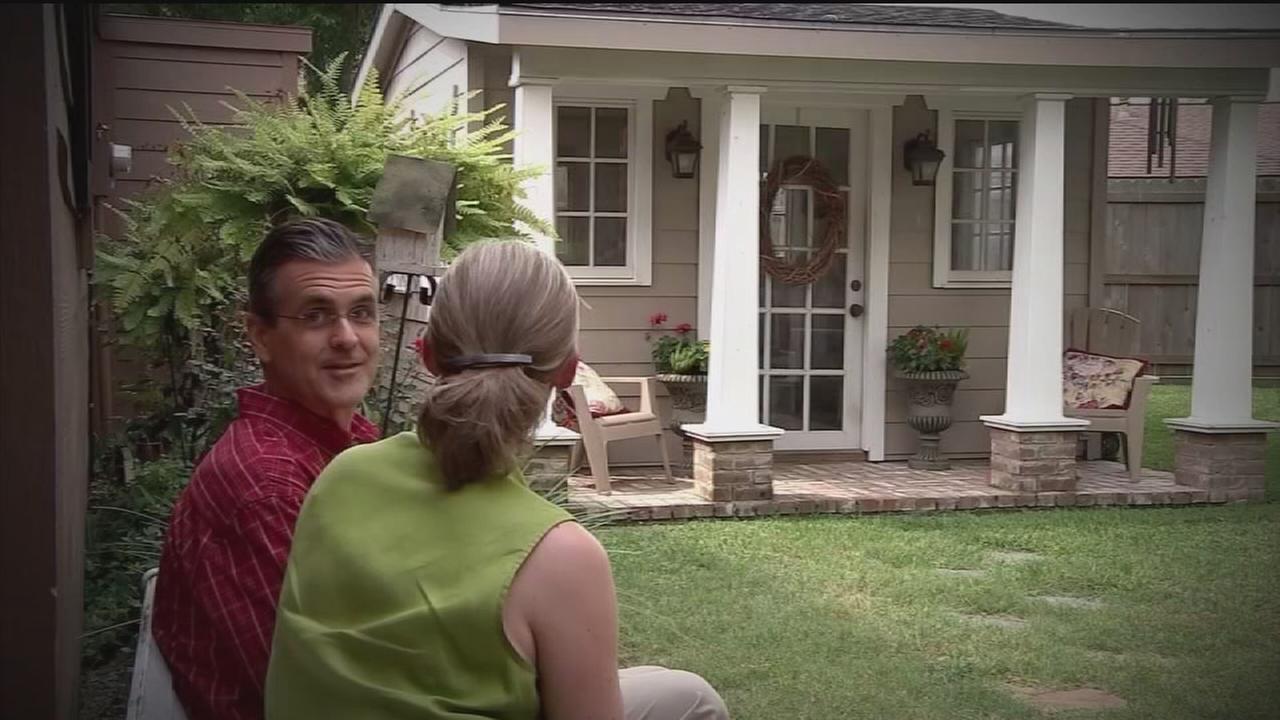 Women escape to backyard She Sheds