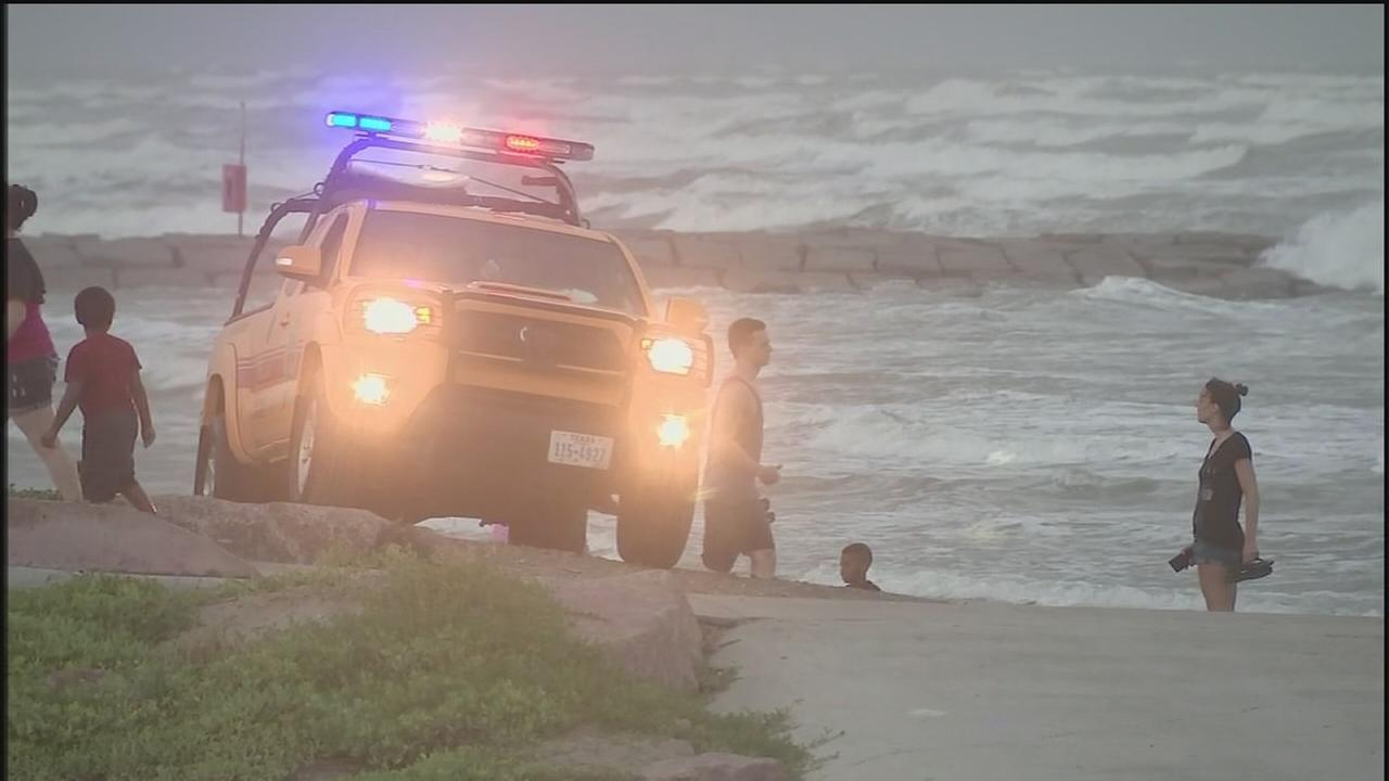 Voluntary evacuations underway in Galveston County